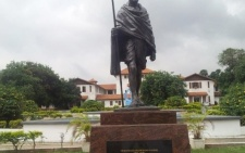 Over 1,300 sign petition to have statue of Gandhi on Legon campus removed
