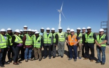Plans to veer into wind power generation; Ghanaian experts visit South Africa
