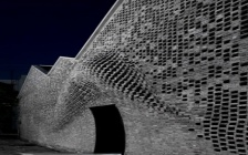 Archi-Union Architects uses robots to construct brick façade 5