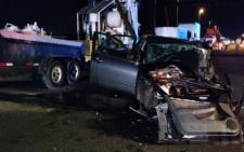 DRIVER HURT AFTER COLLISION WITH FORKLIFT IN CONSTRUCTION ZONE