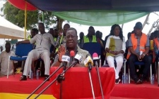 Government cut sod for construction of Axim township roads