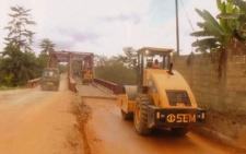 Work resume's on Birim River Bridge Rehab Project