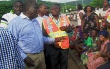 Rains flood Akosombo town : Destroy millions worth of property